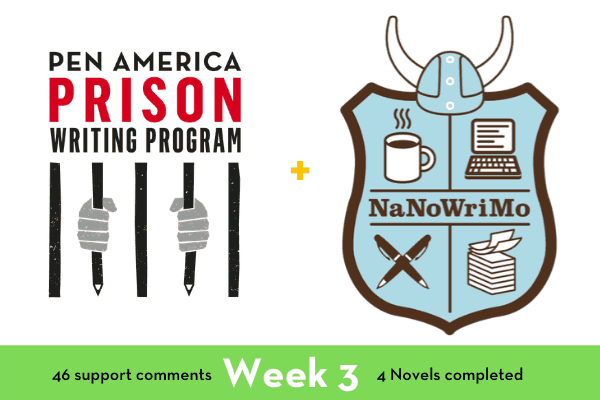 Works of Justice: How to Write a Novel in a Month (While in Prison), Week 3
