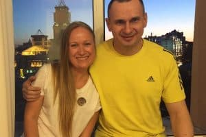 Polina Kovaleva and Oleg Sentsov Q&A, PEN America