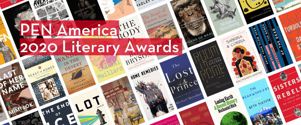 PEN America 2020 Literary Awards Longlists