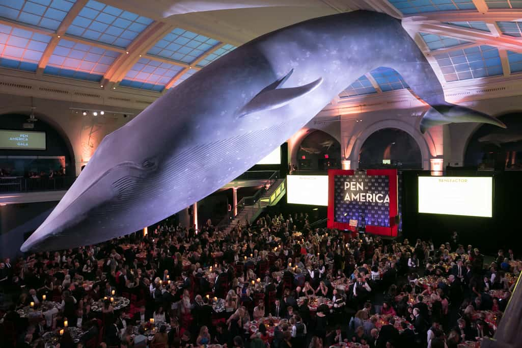 2019 PEN Literary Gala, May 21, 2019, American Museum Of Natural History © Beowulf Sheehan And Taylor Bissey/PEN America