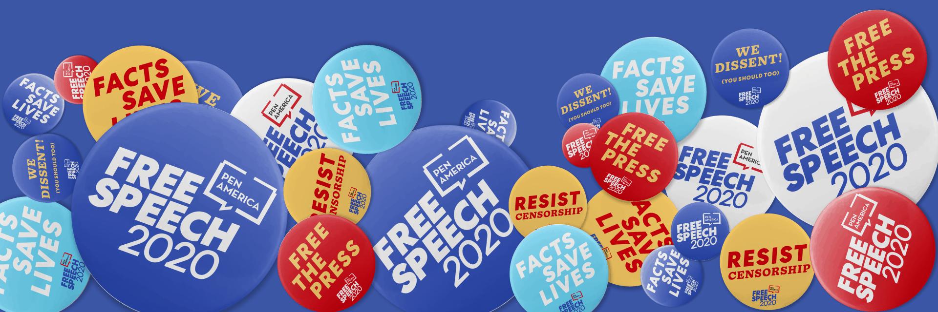 Free Speech 2020 Homepage Slider Image