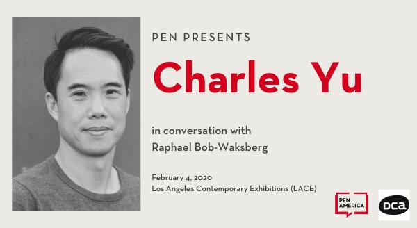PEN Presents: Charles Yu