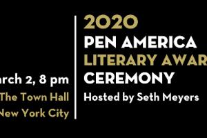 2020 PEN America Literary Awards Ceremony