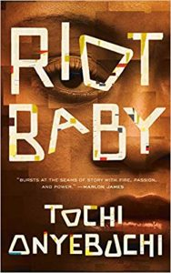 Riot Baby by Tochi Onyebuchi, Book cover