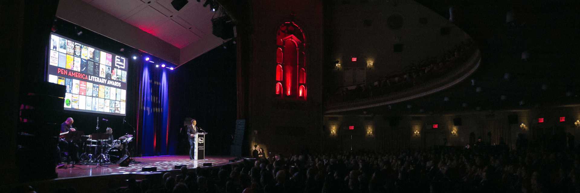 2020 Literary Awards Ceremony at The Town Hall