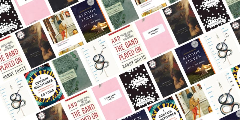 Reading list book covers