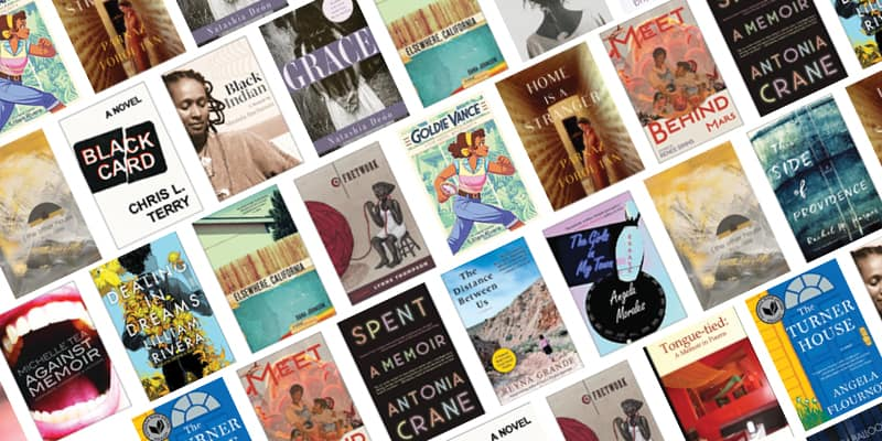 Emerging Voices Reading List Book Covers
