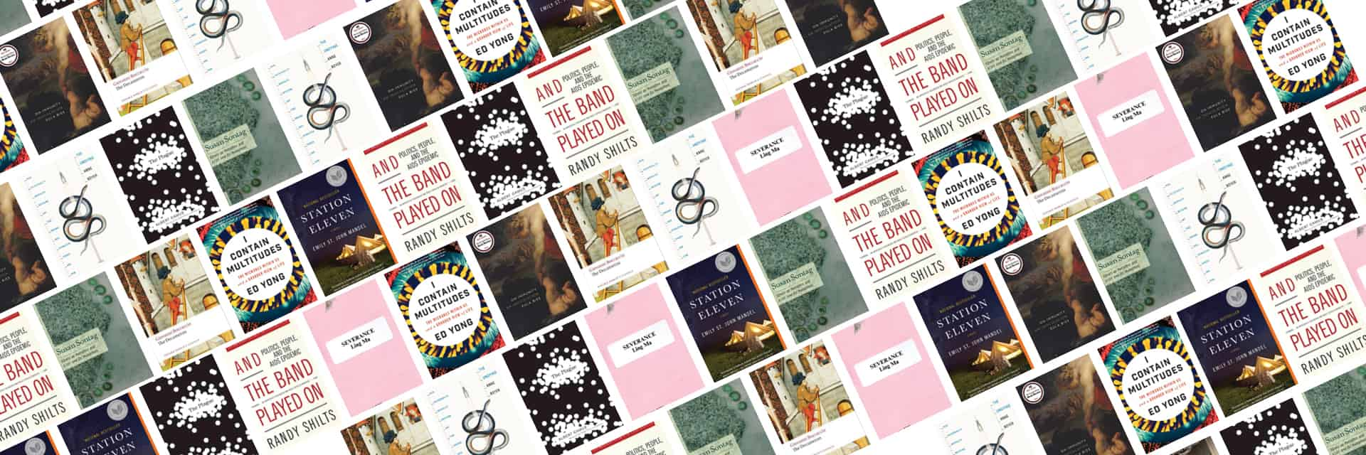 Literature in the Time of Coronavirus Book Covers