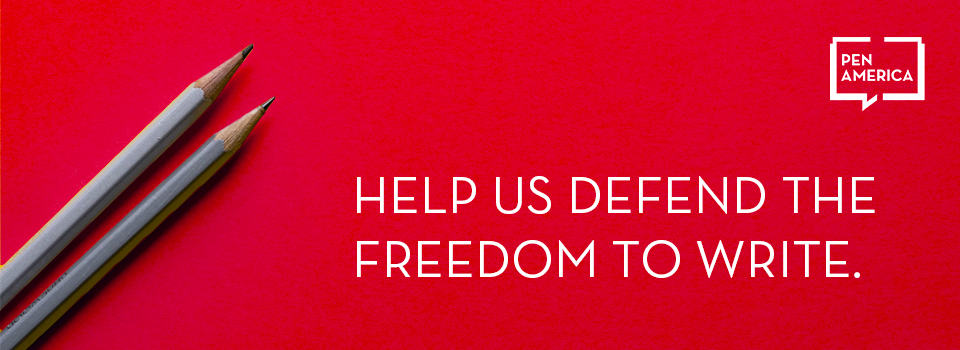 Help us defend the freedom to write