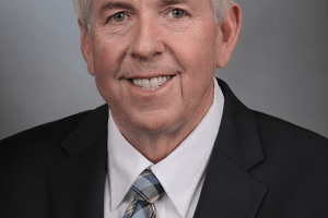 portrait of missouri governor mike parson
