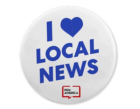 I Love Local News Button 450x350
