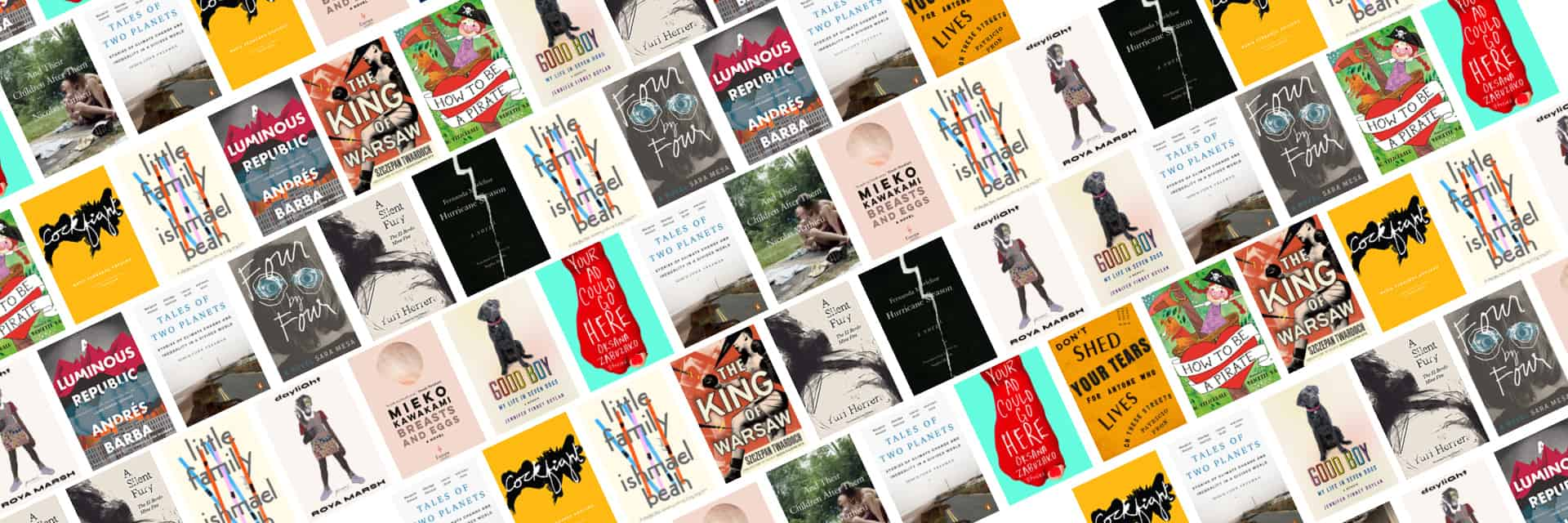 PEN World Voices 2020: A Festival Reading List Book Covers