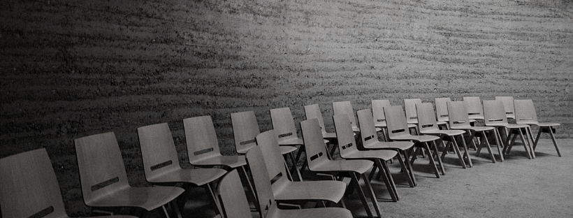 photo of chairs lined up