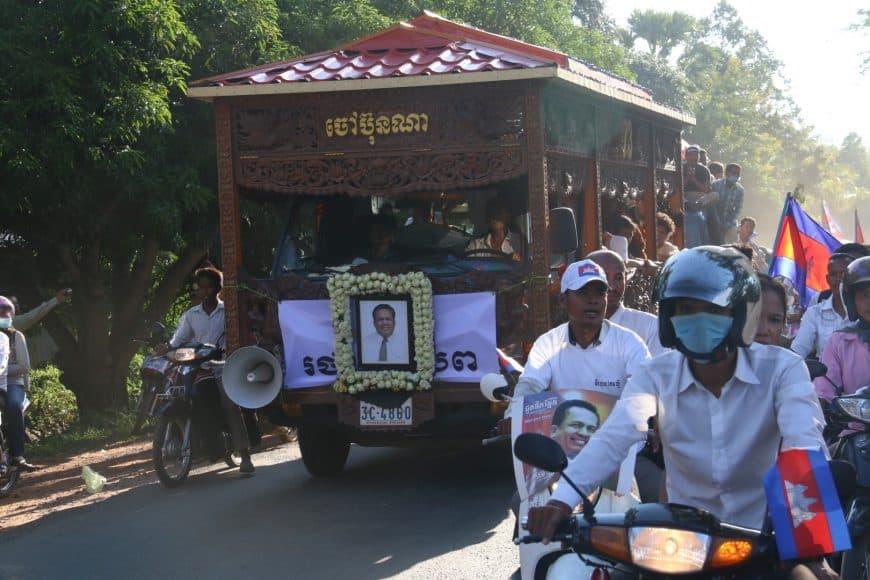 Dr. Kem Ley Funeral Procession