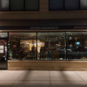 Astoria Bookshop storefront