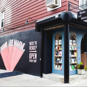 Books Are Magic storefront