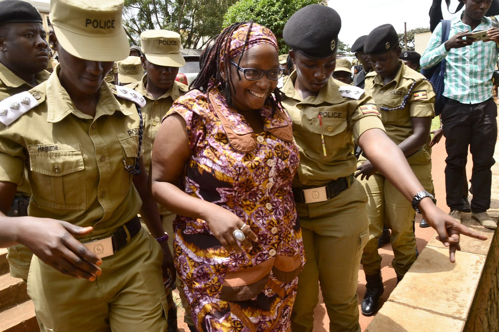 Stella Nyanzi gets arrested