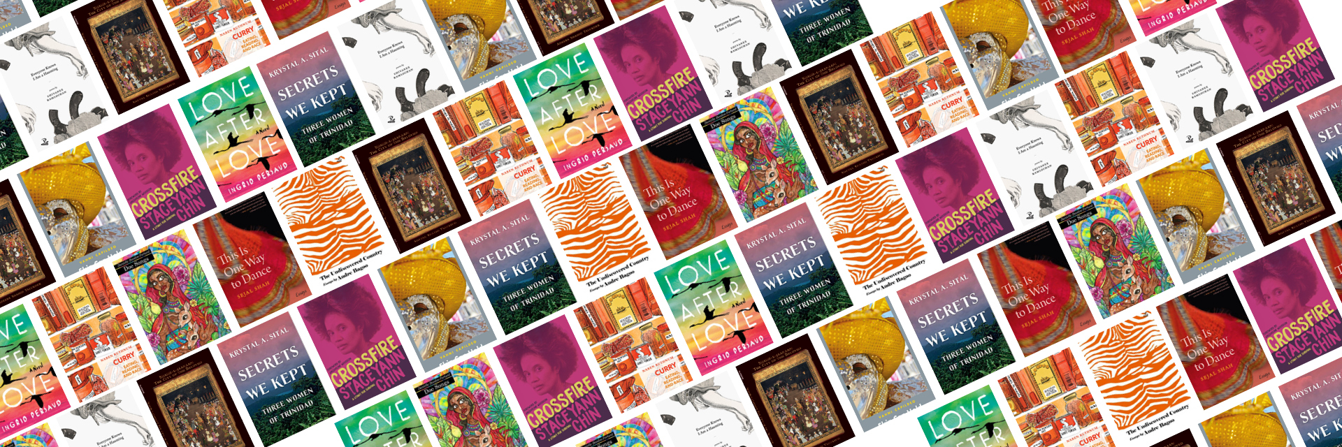 Across the Asian Americas: An APA Heritage Month Reading List Book Covers
