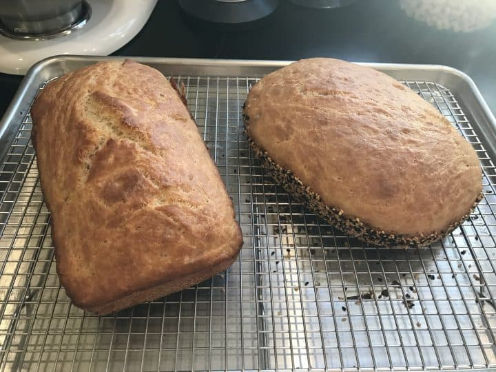Celeste Ng's peasant bread