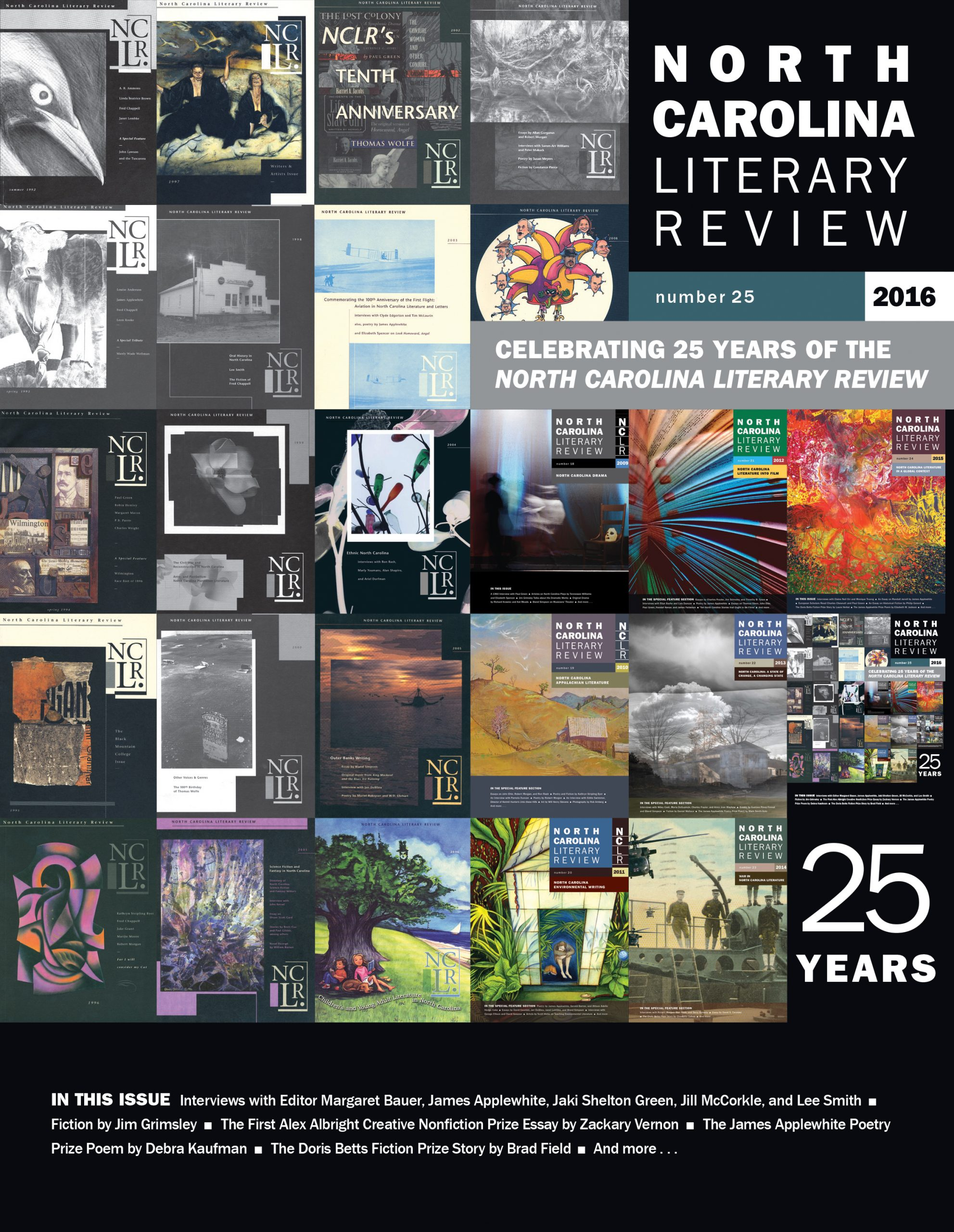 The North Carolina Literary Review Covers