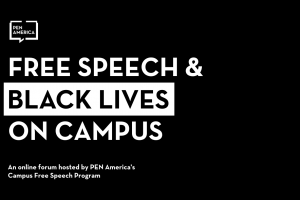 Free Speech & Black Lives on Campus