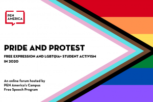 Pride and Protest: Free Speech and LGBTQIA+ Student Activism in 2020