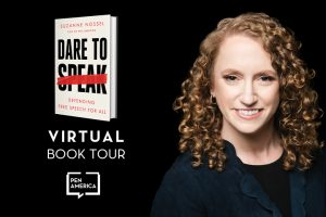 Dare to Speak Virtual Book Tour: July–August 2020
