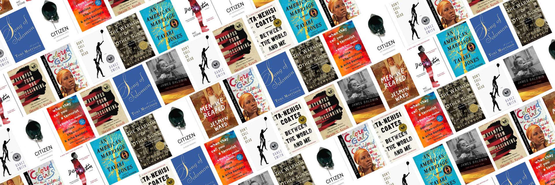 Black Literature Reading List Book Covers