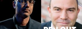 Ayad Akhtar and Ben Rhodes headshots