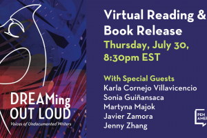 [VIRTUAL] DREAMing Out Loud: Virtual Reading & Book Release