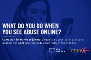 What Do You Do When You See Abuse Online?