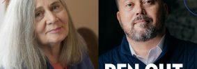 Marilynne Robinson and Alexander Chee headshots