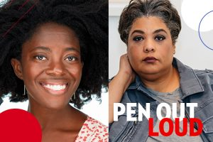 Yaa Gyasi and Roxane Gay headshots
