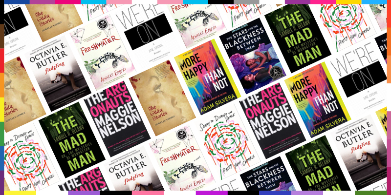 Coming of Age: A Pride Reading List - Book Covers