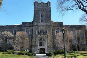 images of fordham university's duane library