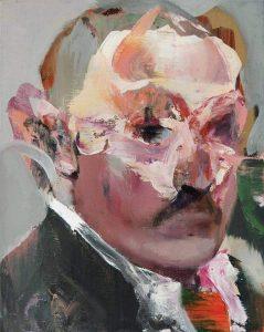 Alexander Lukashenko painting