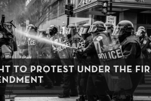 Right to Protest Under the First Amendment