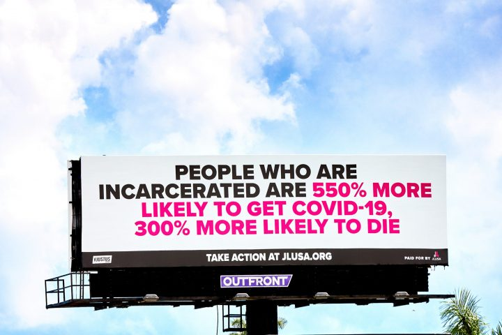 People who are incarcerated are 550% more likely to get COVID-19, 300% more likely to die
