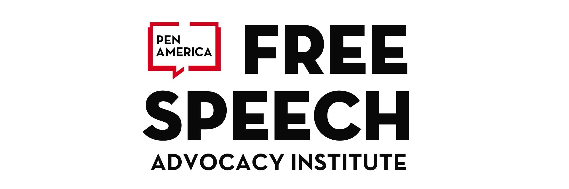 PEN America Free Speech Advocacy Institute Hero Graphic