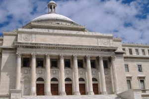 exterior of the puerto rican legislative building