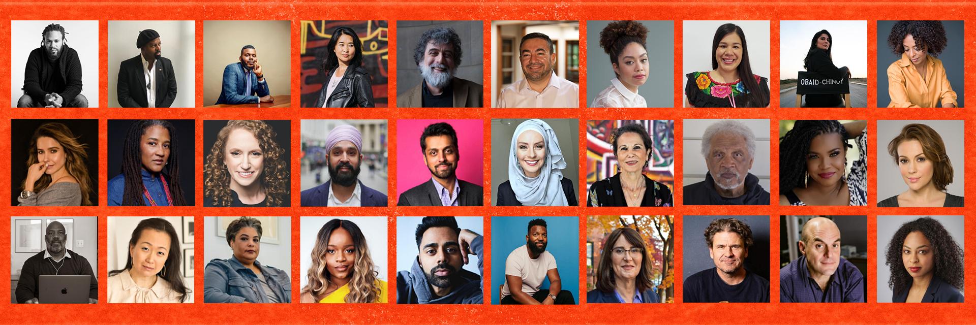 Headshots of We Will Emerge writers