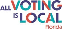 All Voting is Local Florida logo