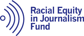 Racial Equity in Journalism Fund logo