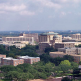 aerial view of texas a&m campus