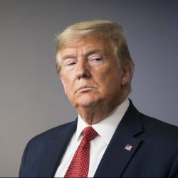 President Trump during a news conference at the White House on March 25