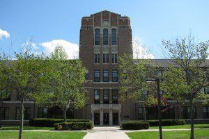 Warriner Hall at Central Michigan University