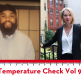 "Temperature Check Vol 9 artwork: headshots of Corey ""Al-Ameen"" Patterson and Lucy Lang side by side"