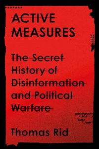 Thomas Rid - Active Measures book cover