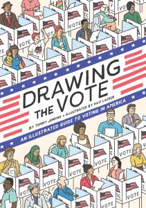 Tommy Jenkins - Drawing The Vote book cover