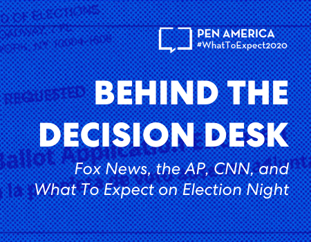 Behind The Decision Desk Event Graphic